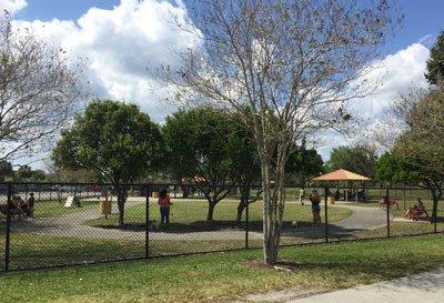 barkham park dog park