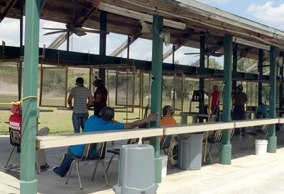 rifle and pistol shooting range