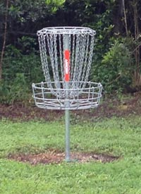 disc golf hole