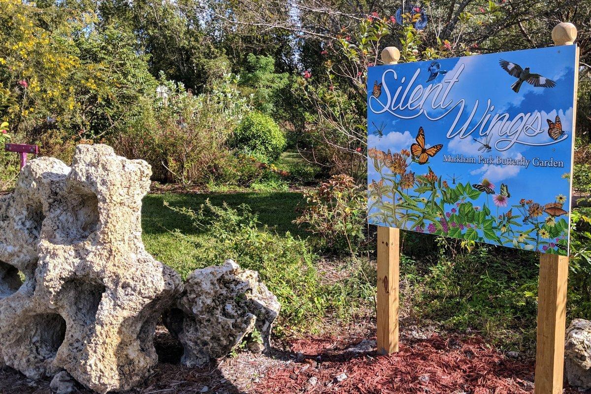 silent wings markham park butterfly garden